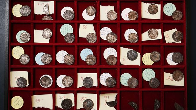 Suffolk Treasure Hunter Set To Make Thousands As Ethelred Ii Anglo Saxon Coins Make Mayfair Auction East Anglian Daily Times Rarity 6 · a silver coin given to true hunters. anglo saxon coins make mayfair auction