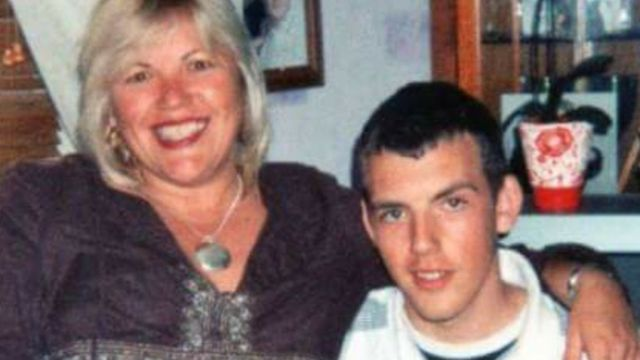 Melanie Leahy with son Matt Picture: SUPPLIED BY FAMILY