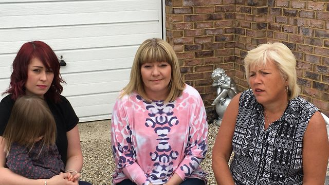 Amanda Cook, Lisa Morris and Melanie Leahy, who have all campaigned over the years for a public inqu