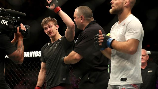 Arnold Allen is one of the best featherweights on the planet Picture: PA SPORT